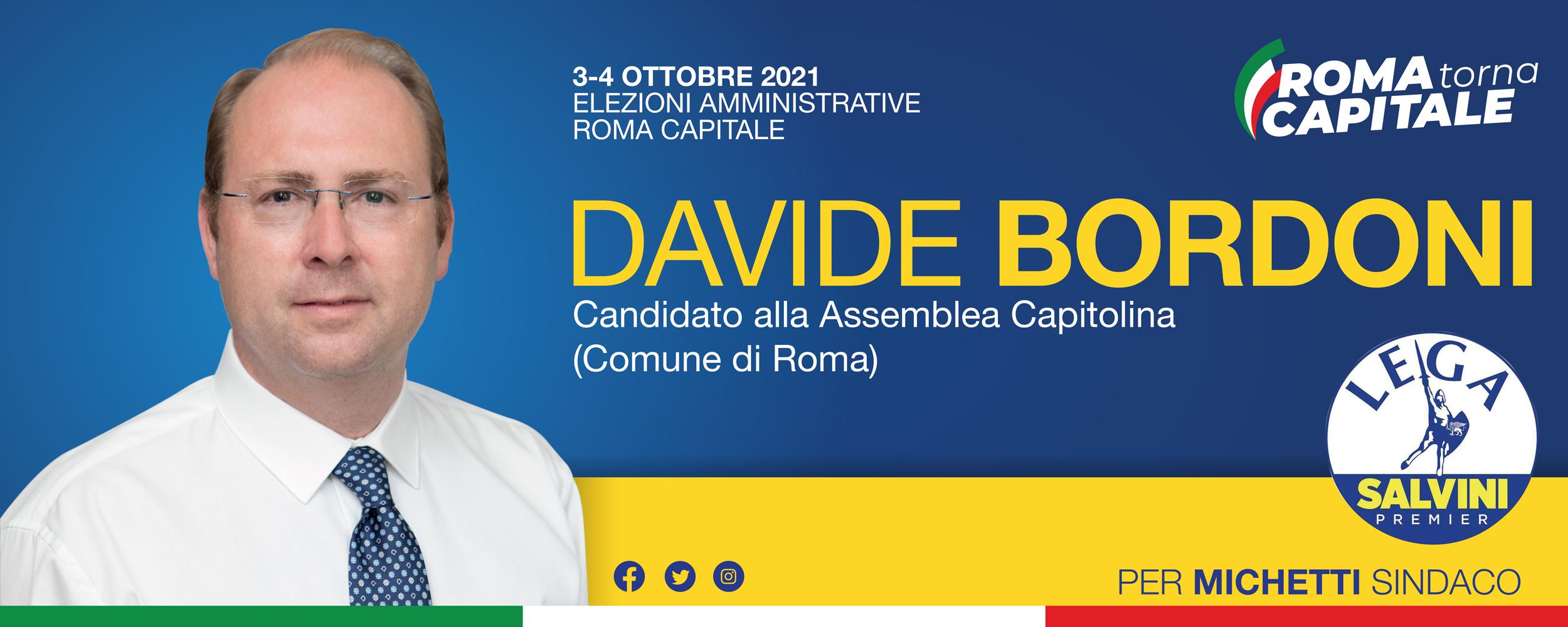 Davide Bordoni - Elezioni Amministrative